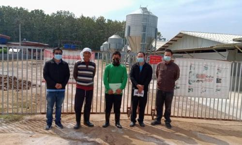 โครงการตรวจต่ออายุมาตรฐานฟาร์มสุกร ปีงบประมาณ 2564
